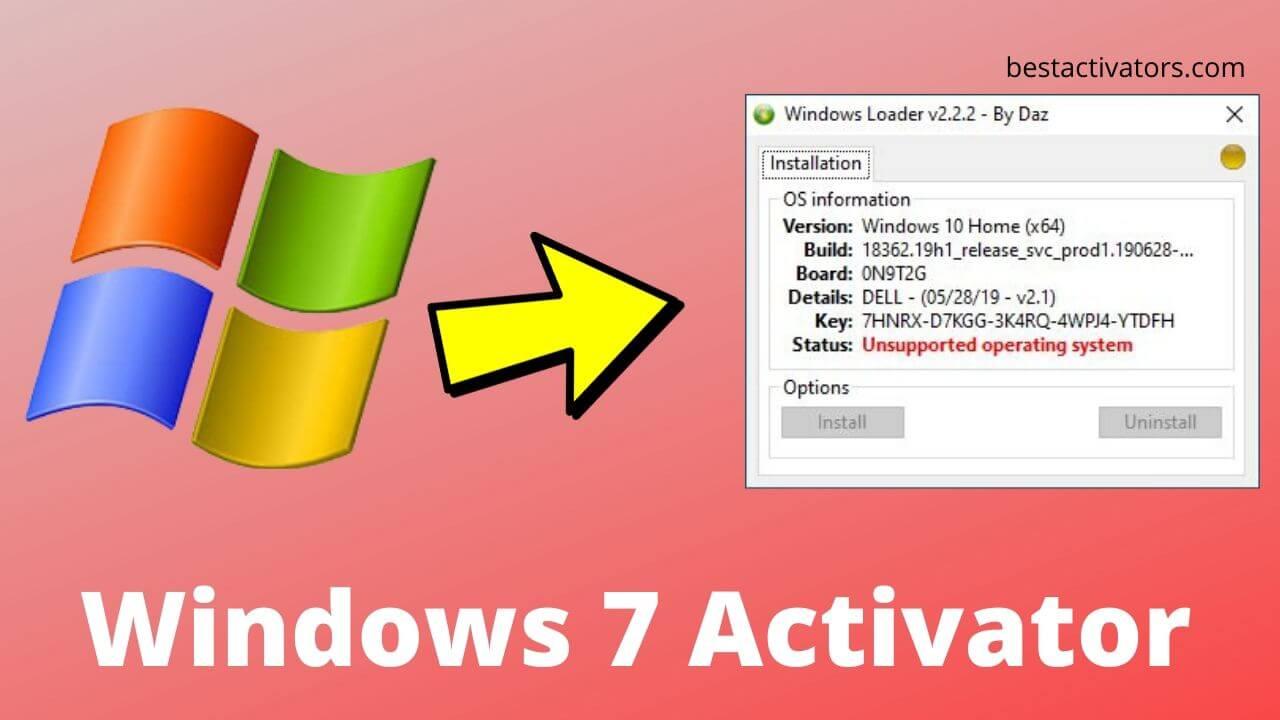 Windows 7 Activator Download Ultimate 32-64 Bit 2020